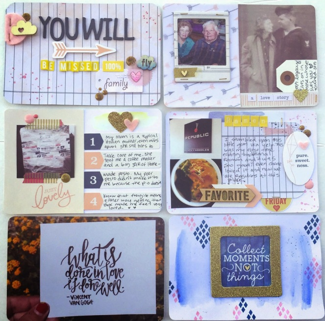 April Embellishment Kit Creative Retreat scrapbooking