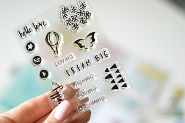 creative retreat stamp set
