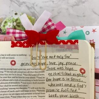 bible journaling page