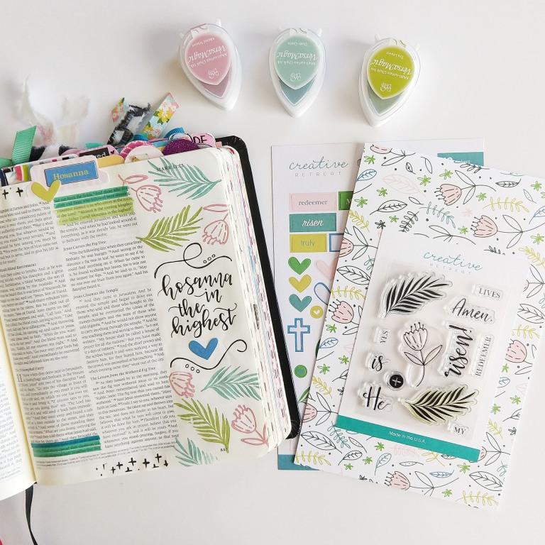 Hosanna | Bible Journaling With Elli